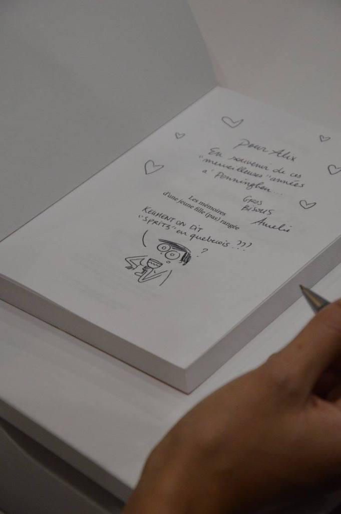 aurélie joly signe sa bande dessinée