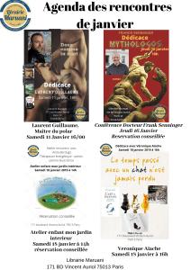 agenda janvier 2020 librairie maruan