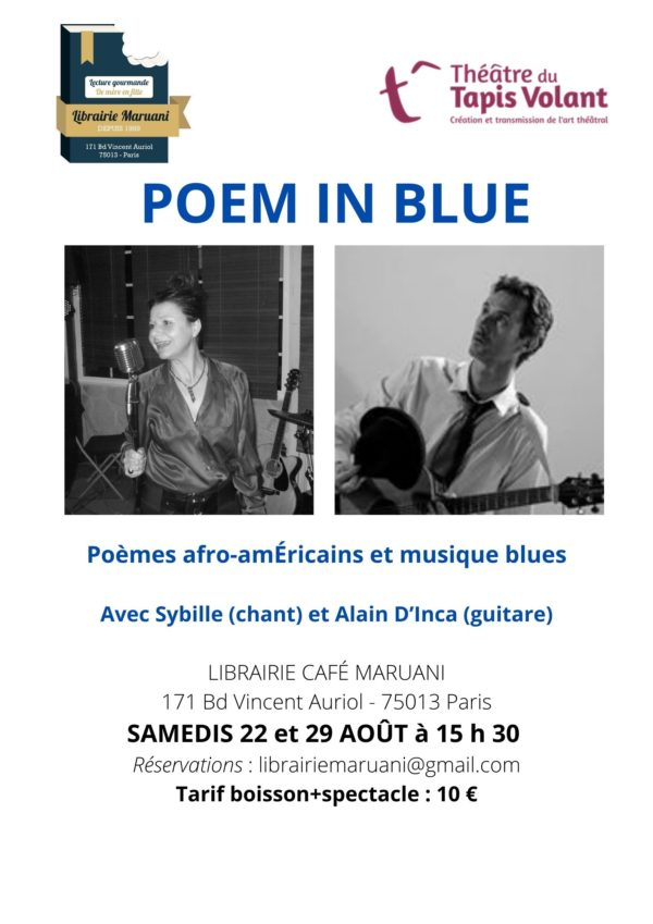 Poem in Blue, chant et guitare