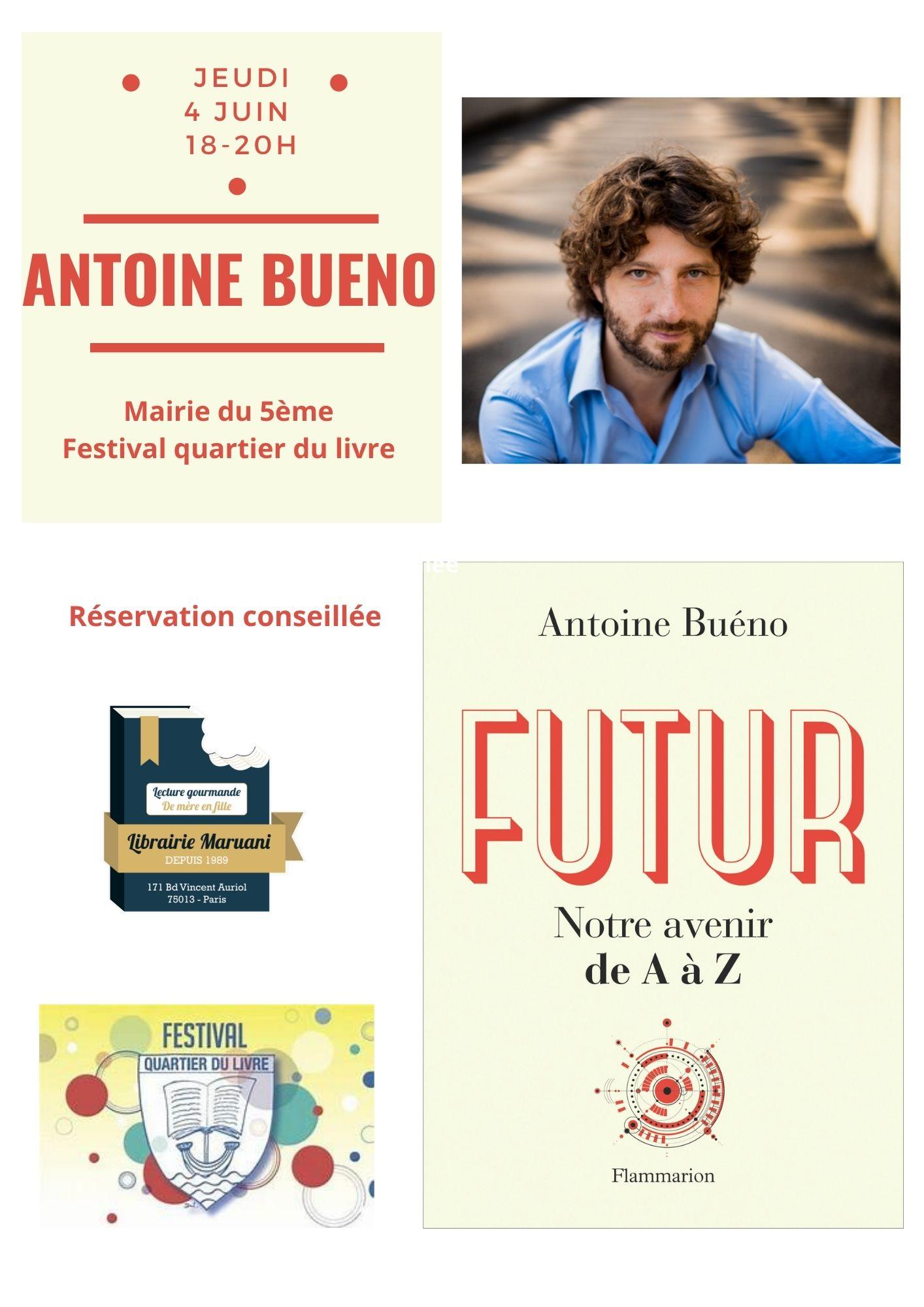 HORS LES MURS : Antoine Bueno