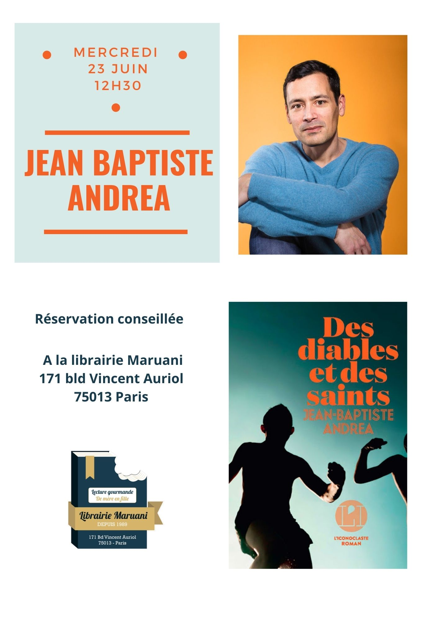 Rencontre Jean-Baptiste Andréa
