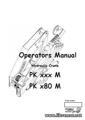 CRANE POWER & PALFINGER MARINE CRANE PK XXX M AND PK X80 M