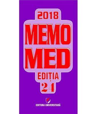 MEMOMED 2018 + Ghid farmacoterapic alopat si homeopat, Editia 24 - 2 VOLUME