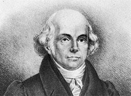 portrait of Hahnemann