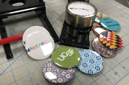 Buttons and magnets