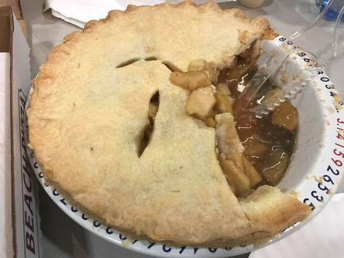 A picture of actual pie