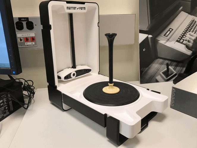 Picture of 3D scanning object