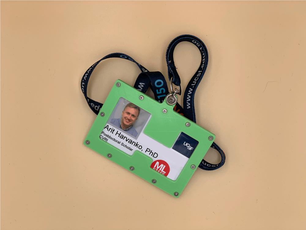 3D printed photo ID
