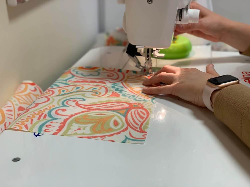 Karsyn sewing fabric