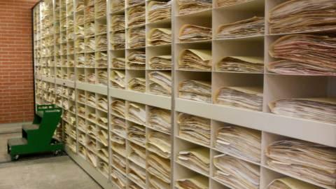 archival document folders