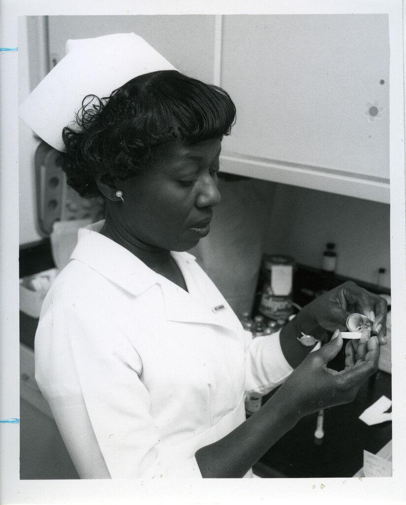 Gladys W. Henderson nurse