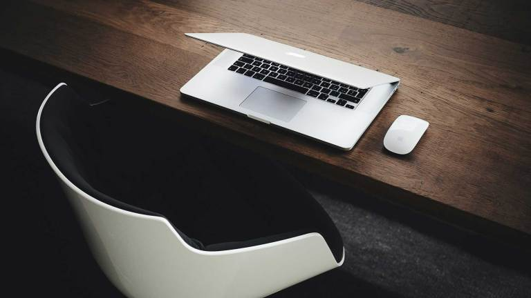 M1 Mac on table