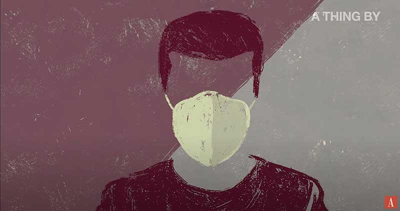 man in facemask