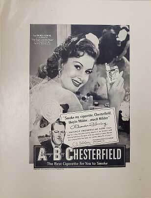 chesterfield advert