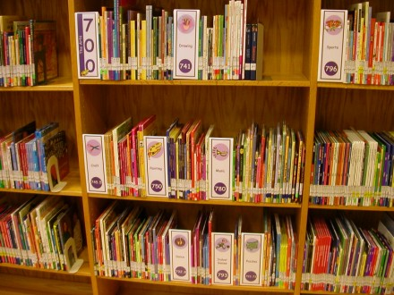 Image result for library signs for schools