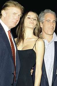 Epstein con Trump
