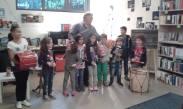 laboratorio di percussioni con Peppe Sannino libreria Controvento