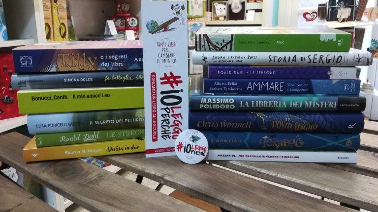 Dal 21 al 29 novembre 2020 si è svolta la quinta edizione di #Ioleggoperché: una bellissima iniziativa, organizzata dall'Associazione Italiana Editori (AIE), volta ad arricchire le biblioteche scolastiche di tutta Italia e a promuovere l'amore e l'importanza per la lettura.