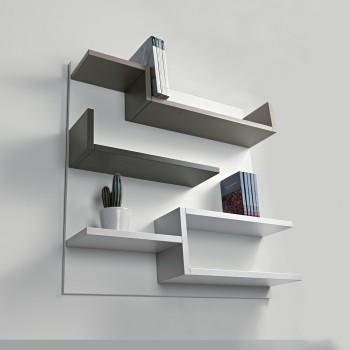 Viene proposta in varie dimensioni, da posizionare in verticale o in orizzontale a seconda delle esigenze. Librerie A Parete Moderne E Componibili Librerie Design