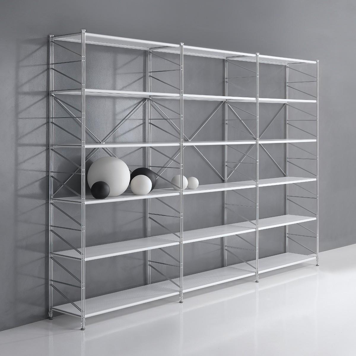Librerie componibili in acciaio come creare scaffali e