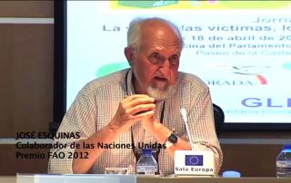 Pesticidas no son necesarios Jose Esquinas Premio FAO