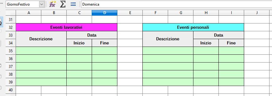 Calendario Con Foto Personali.Un Mini Calendario 2017 Con Lo Calc Il Club Del Software