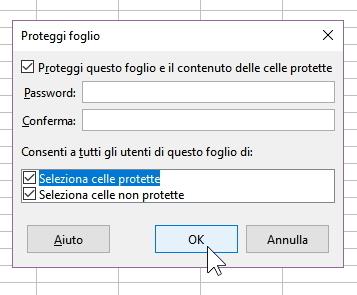 protezione delle celle: la protezione foglio