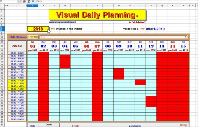 Visual Daily Planning