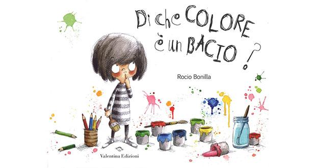 Di che colore  un bacio  Libri e bambini