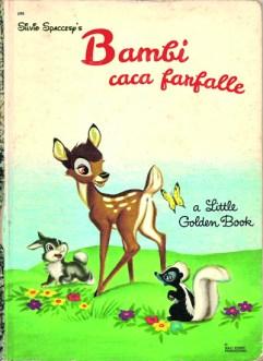 Libri Vintage per l'Infanzia | Bambi caca farfalle