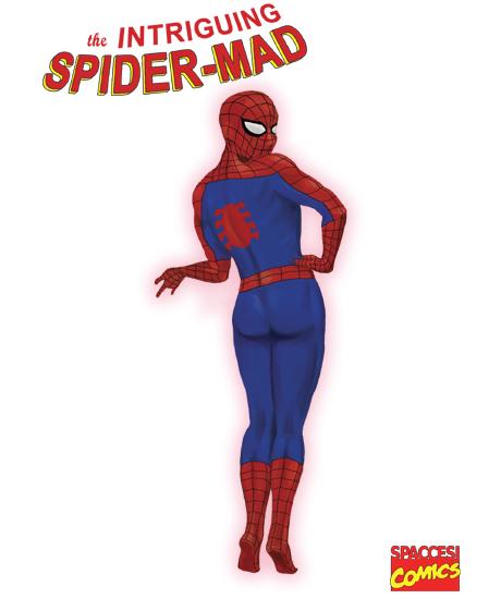 Libri Vintage per l'Infanzia   The Intriguing Spider-Mad