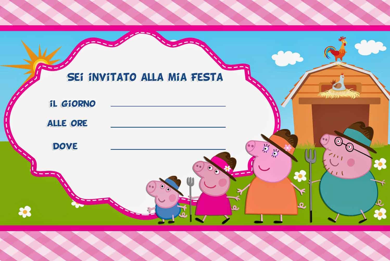 Beautiful Inviti Di Compleanno Per Bambini Da Stampare Gratis