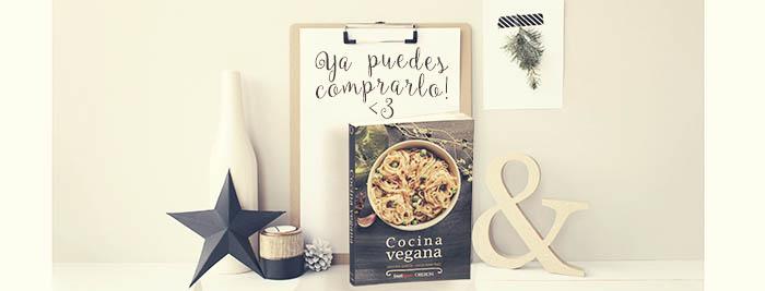 Libro Cocina Vegana, por Virginia García y Lucía Martínez