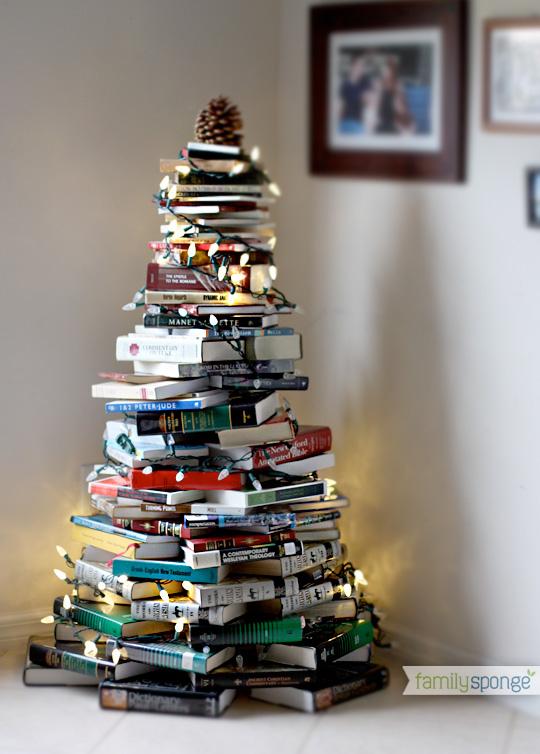 Resultado de imagen para arboles de navidad de libros