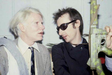 Andy Warhol y Victor Bockris