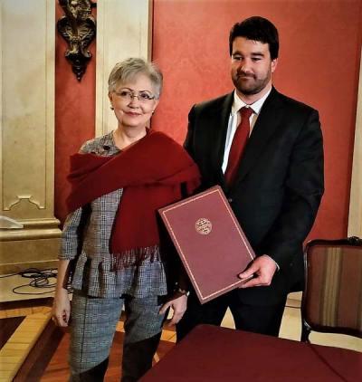 Firma del convenio entre la Feria del Libro de Sevilla 2019 y el Consulado de Portugal