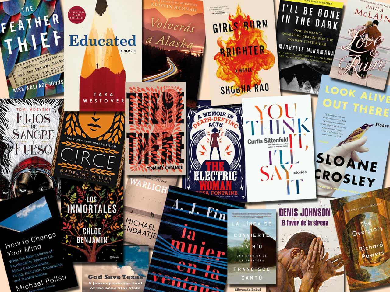 Los mejores libros del año (por ahora), según Amazon