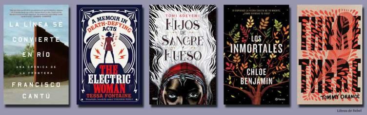 Los mejores libros de 2018 en Amazon, por ahora (II)
