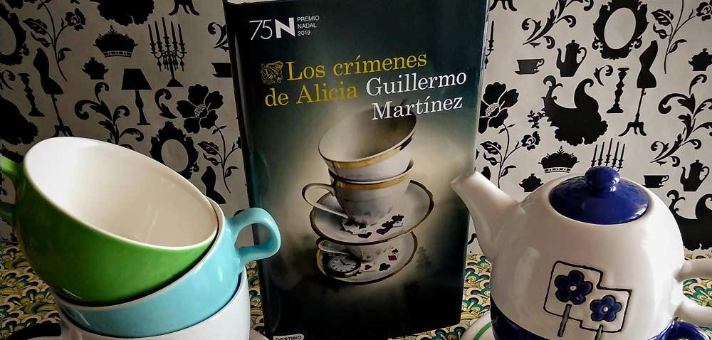 Reseña y sorteo: 'Los crímenes de Alicia', de Guillermo Martínez (Premio Nadal)