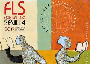 Cartel Feria del Libro de Sevilla 2019