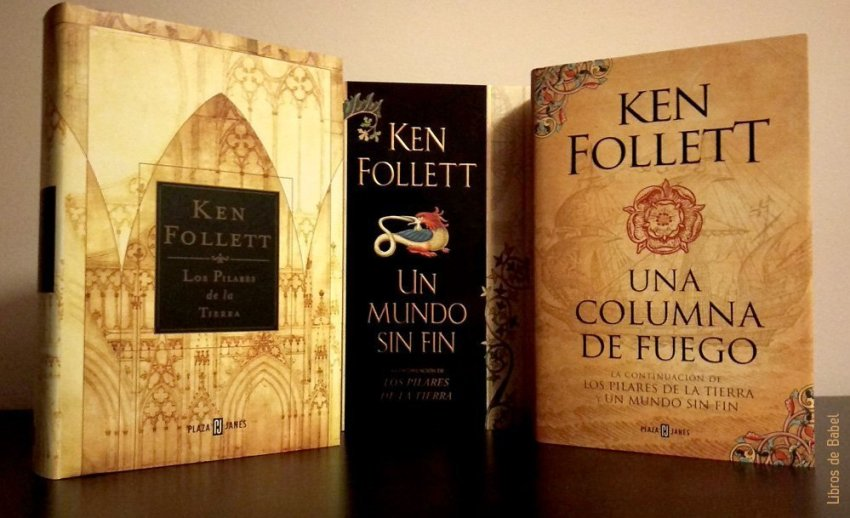 La trilogía de Kingsbridge de Ken Follett
