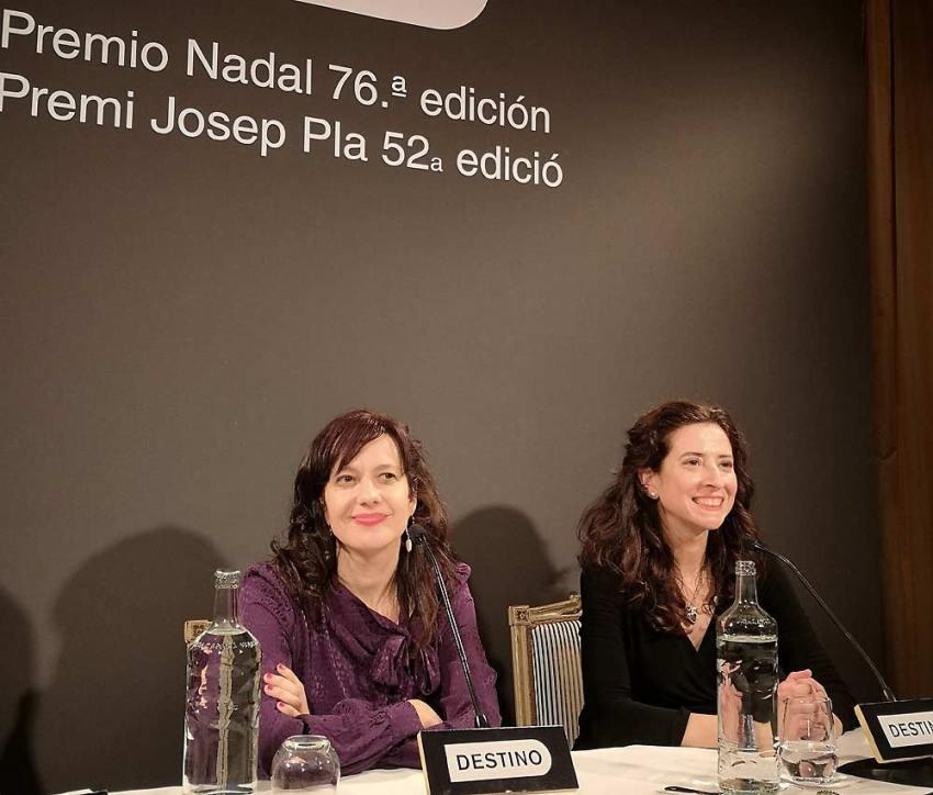 Laia Aguilar y Ana Merino.