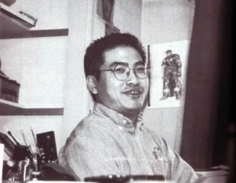 Kentaro Miura, creador de la serie manga Berserk