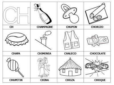 Aprender a leer - primeras palabras - CH