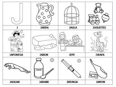 Ejercicios para aprender a leer: Primeras palabras J-M | Libros para ...
