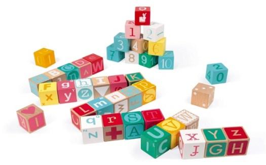Aprender el alfabeto - Cubos