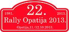 22. Rally Opatija