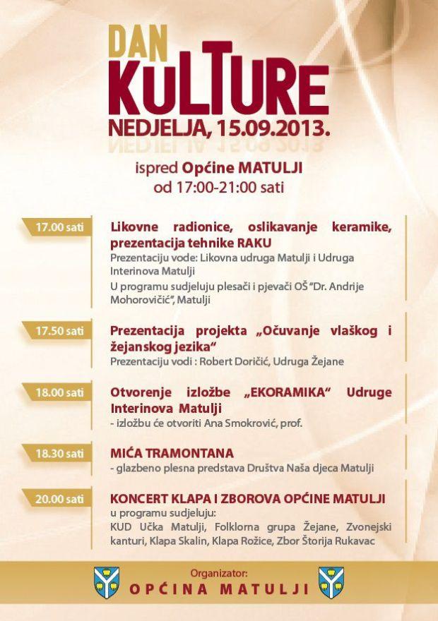 Dan kulture Matulji