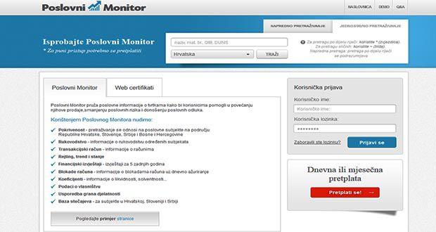 Poslovni monitor
