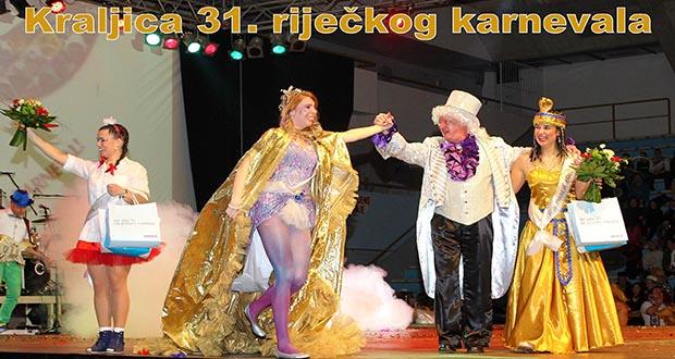 Kraljica 31. riječkog karnevala